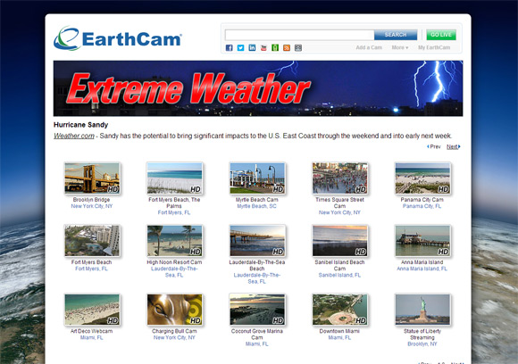 EarthCam - Breaking News & Extreme Weather Cams