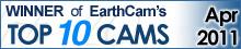 EarthCam Top 10 Winner