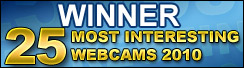 Winner EarthCam's 25 Most Interesting Webcams 2010