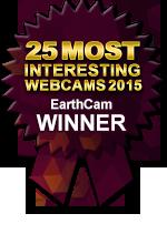 Winner EarthCam's 25 Most Interesting Webcams 2015
