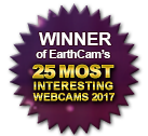 Winner EarthCam's 25 Most Interesting Webcams 2017